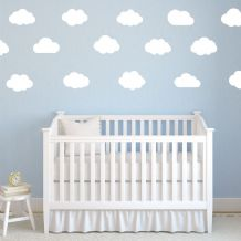 Cloud Baby Nursery Wall sticker / decals